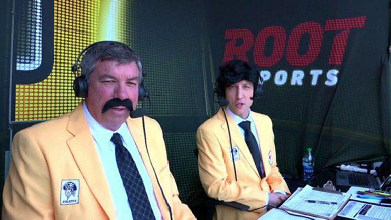 Bob Walk and I getting into that '79 spirit